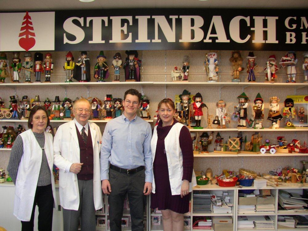 Our visit to the Steinbach factory in Hohenhammeln